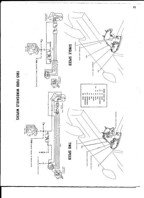 Galaxie Single Speed Wiper Motor Swap