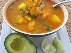 Mondongo Colombiano Pork, Tripe and Chorizo Soup My