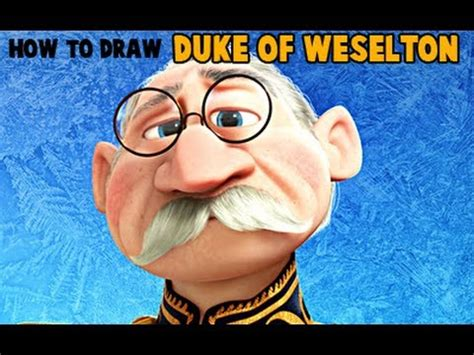 draw  duke  weselton  frozen youtube