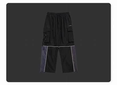 Loose Reflective Pants Shorts Apparelwin