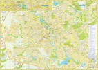 Large Minsk Maps for Free Download and Print | High ...