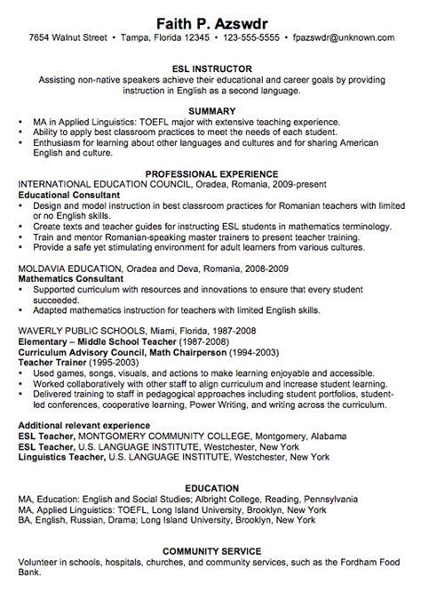 Chronological Resume Model by 2014 Sle Resumes Yahoo Search Results Unemployed