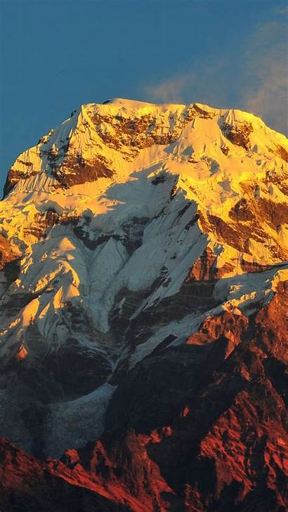 Everest Mount Mobile Mountain Background Earth Abyss