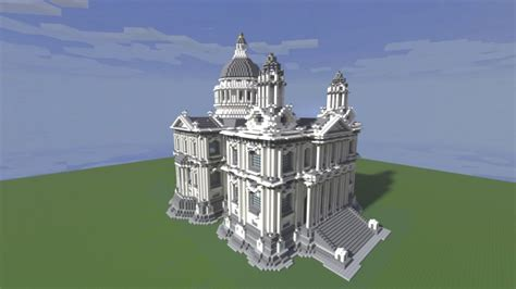 white town hall minecraft project