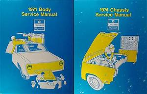 1974 Plymouth And Chrysler Repair Shop Manual Reprint 2