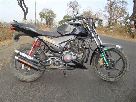 Bike Modification Of Honda Stunner by Modified Bike Honda Stunner Cbf With Silencer