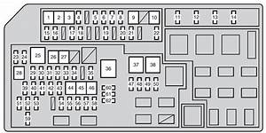 Toyota Land Cruiser Prado  From 2011  - Fuse Box Diagram