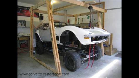corvette body lift    minute youtube