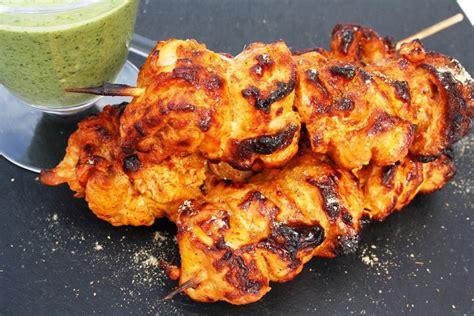 tandoori chicken tikka indian recipes maunika gowardhan
