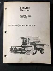 New Holland Service Manual Combine Tr 95  454 455