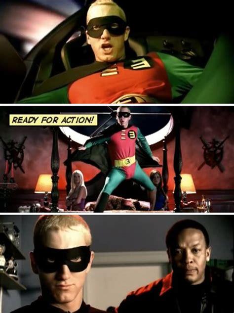 eminem turns  superhero rap boy