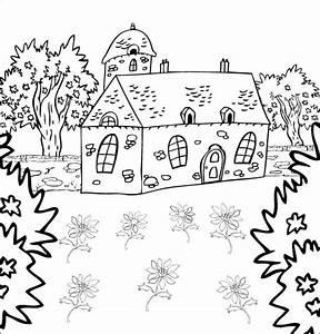 Jardin Dessin Couleur : la nature en coloriage jardin page 2 ~ Melissatoandfro.com Idées de Décoration