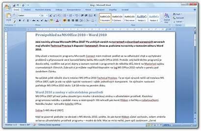Word Office Microsoft 2007 Ms Glimpse 2009