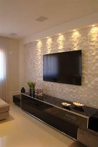 Adhesif Mural En Relief : revetement adhesif mural salon ~ Premium-room.com Idées de Décoration