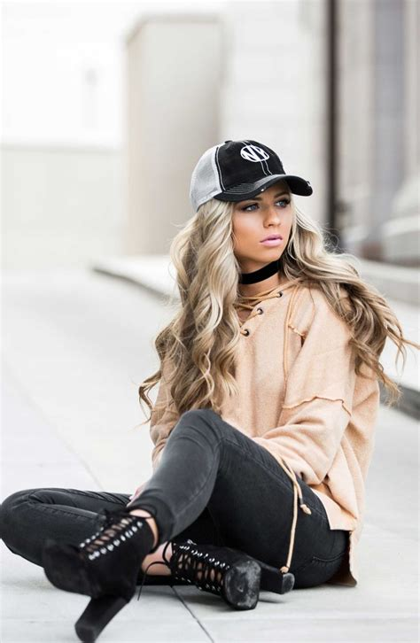 Baseball Cap Laceup Shoes Womens Fashion Street Style