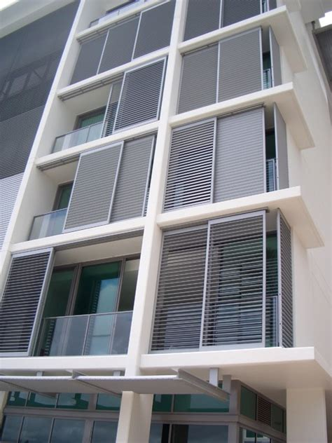 aluminum shutters inspiration contemporary exterior