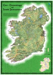 Geo-Genealogy of Irish Surnames