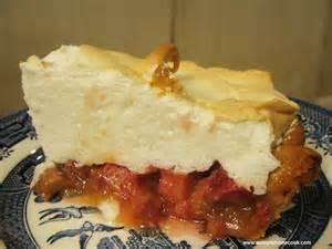 "Rhubarb ""Custard"" Pie"