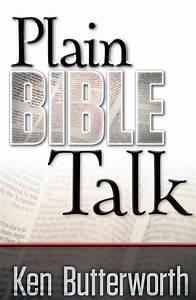 Plain Bible Talk