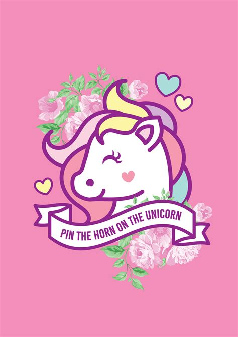 paperdivas unicorn free printable
