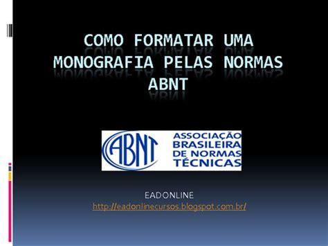 dicas para monografia tcc como formatar seu trabalho formatar monografia como formatar sua monografia usando