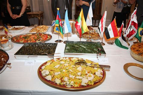 foreign cuisine international cuisine at the white palace the