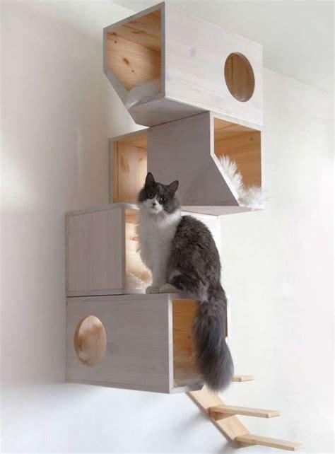 Escalier Mural Pour Chat by Les 25 Meilleures Id 233 Es Concernant Arbres 192 Chat Maison