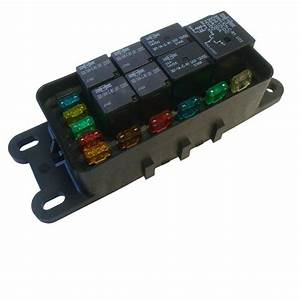 Hwb60 Waterproof Sealed Fuse Relay Panel Block Atv Car