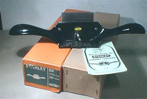 stanley   cabinet scraper handplane central