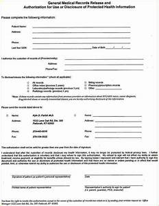 Doc Records Release Form – Medical Records