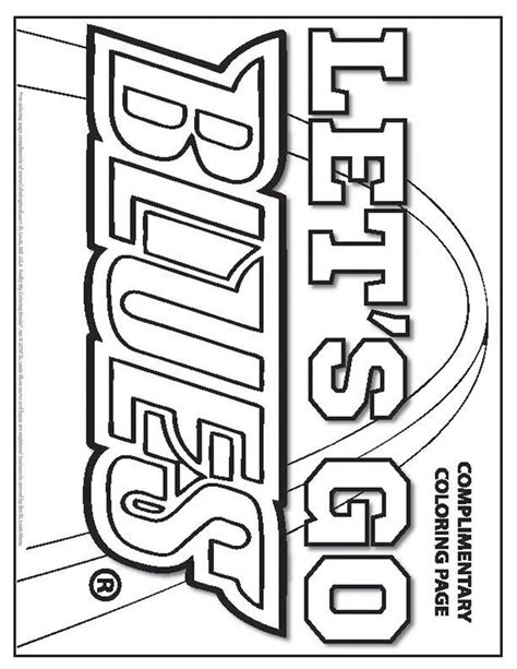 St Louis Cardinals Coloring Pages - Learny Kids | 613x474