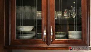 Installing glass in cabinet doors cabinetscom for Kitchen cabinet doors with glass
