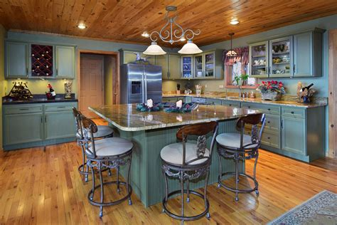 drop lights for kitchen island 47 beautiful country kitchen designs pictures