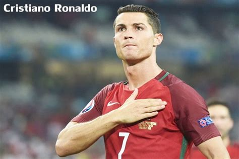 Biografi Cristiano Ronaldo Dalam Bahasa Inggris Singkat