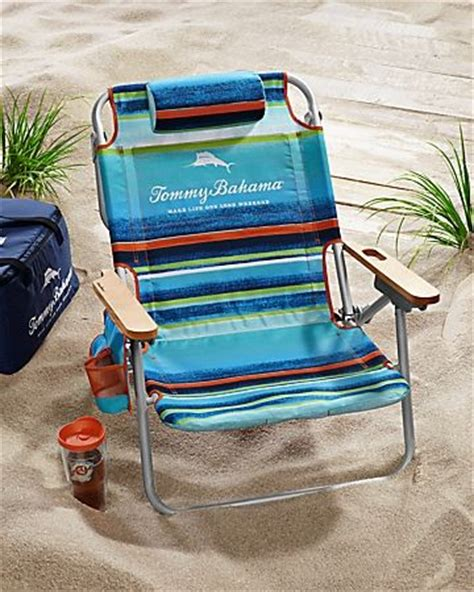 Bahama Backpack Cooler Chair Blue Stripe by Bahama Multi Stripe Deluxe Backpack Chair
