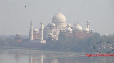air pollution  agra  unknown vision