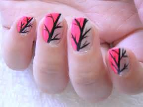 Easy hot pink nail polish designs facebook art