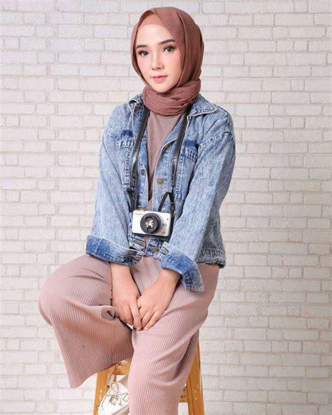 15 pakaian muslim wanita fashion remaja terbaru 2018 gaya masa kini teman