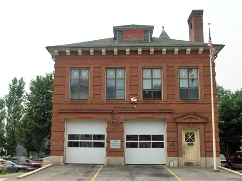The Providence Street Fire Station in Worcester