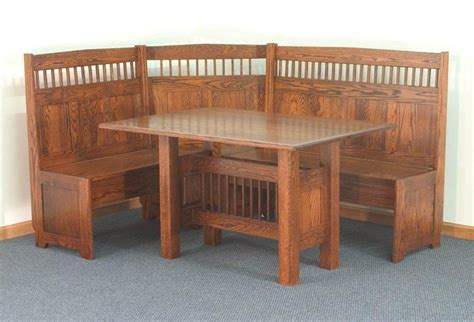 kitchen breakfast nook furniture amish corner breakfast nooks in solid wood