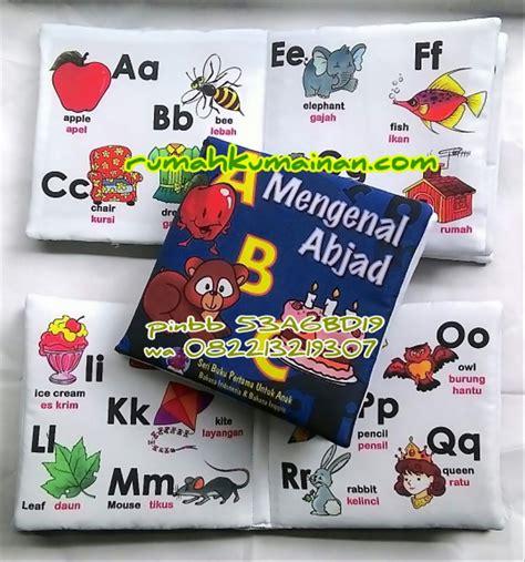 jual soft book buku bantal mengenal abjad di lapak retno bukubantaledukasi iben07