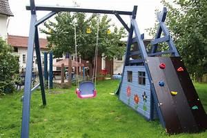 Spielhaus Garten Mit Rutsche : schaukel kletter rutsche spielhaus tischlern ~ Watch28wear.com Haus und Dekorationen