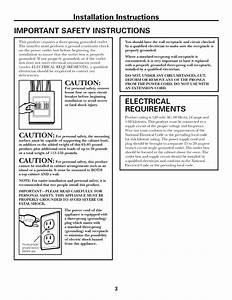 Ge Microwave  Hood Combo Manual L0812432