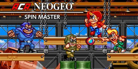 aca neogeo spin master nintendo switch  software