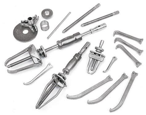 heavy duty manual interchangeable puller set