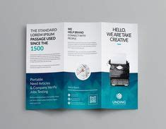 Aeolus Corporate Tri Fold Brochure Template 001159 141 Best 画册 Images In 2019