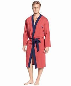 Ralph lauren mens robes for Robe chemise ralph lauren