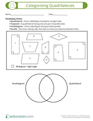 quadrilateral worksheet for 4th grade livinghealthybulletin