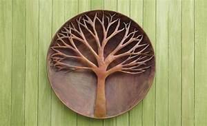Tree of Life Flamed Wall Art