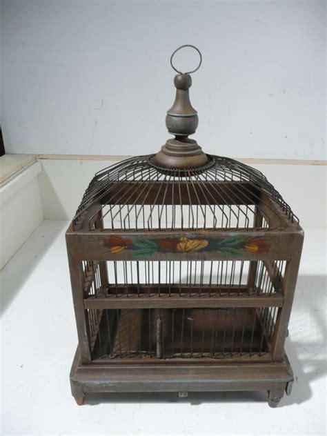 gabbia in legno per uccelli gabbia per uccelli legno catawiki
